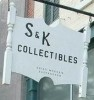 S&K Collectibles sign